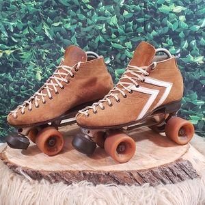 VTG Riedell 65S vintage roller skates/ S
